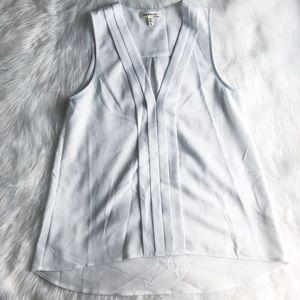 Monteau • White Pleated Blouse